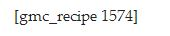 What your recipe looks like when the GetMeCooking plugin is deactivated.
