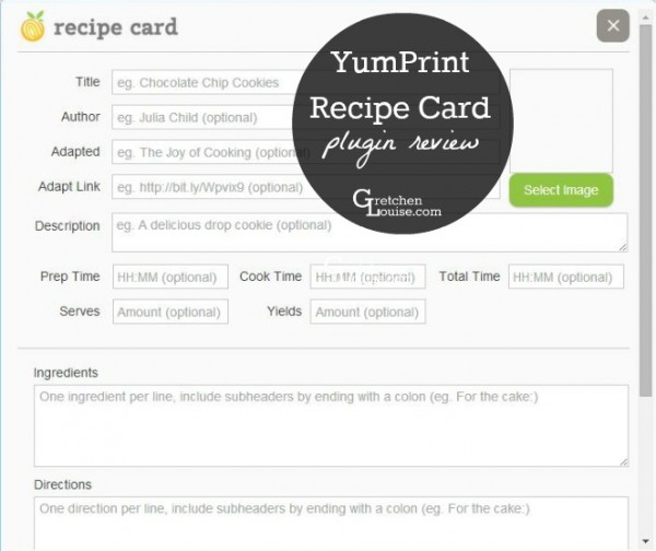 YumPrint Recipe Card WordPress Plugin Review