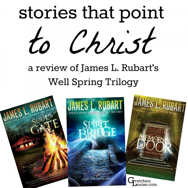 Too often I make the mistake of avoiding books in genres I don't read. But when I finally opened James L. Rubart's Christian suspense novels, I couldn't stop reading.
