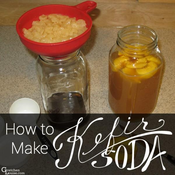 How to Make Kefir Soda