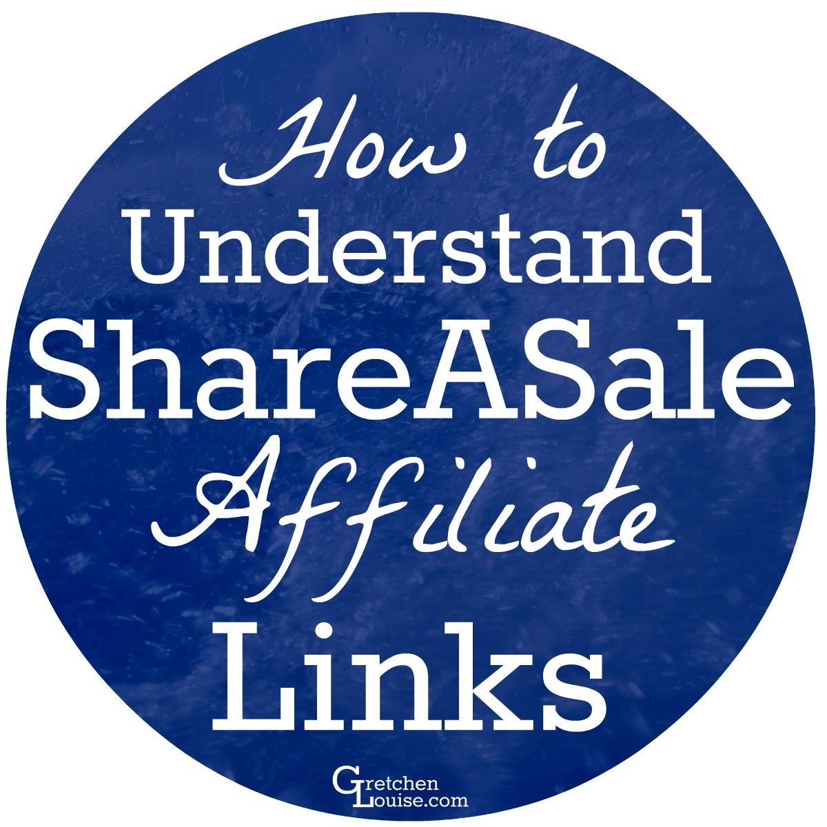 Understanding ShareASale Affiliate Links