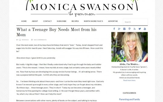 Monica Swanson