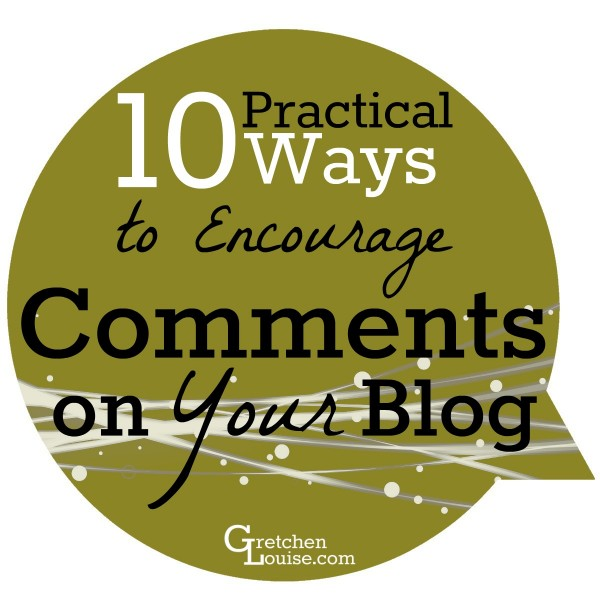 Want to encourage commenting on your blog posts? Check out these 10 super practical ways to streamline your posts so it's easy to comment and simple to come back later and continue the conversation.