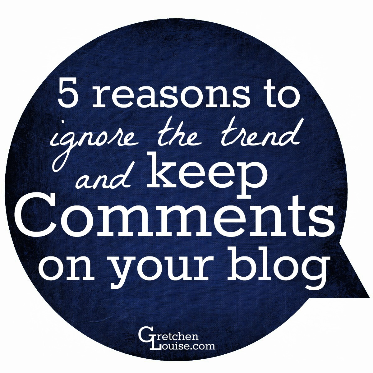 Although killing comments may be all the rage this season, here are 5 reasons you may want to not want to join the trend.
