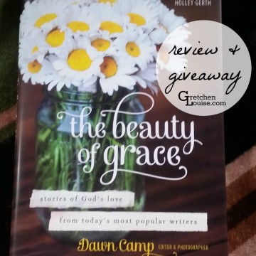 The Beauty of Grace review and #giveaway