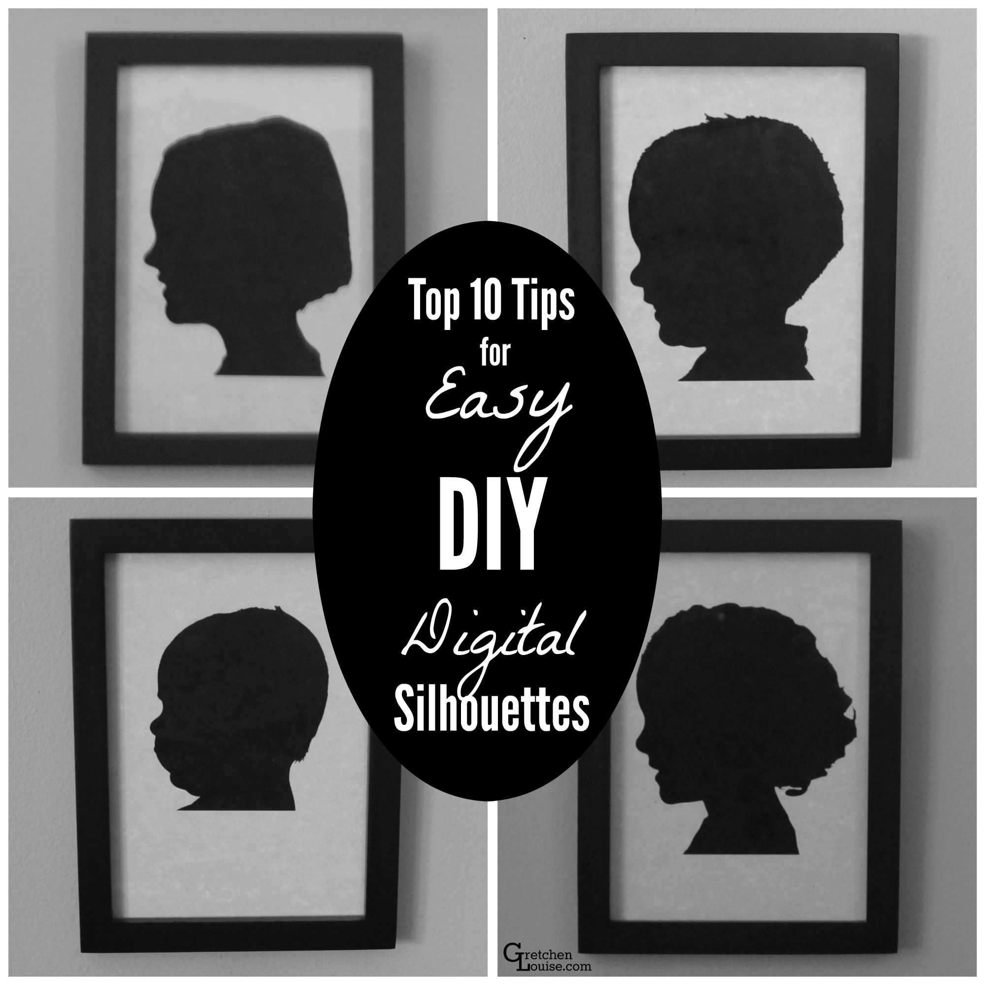 diy halloween silhouettes - diy (do it your self)