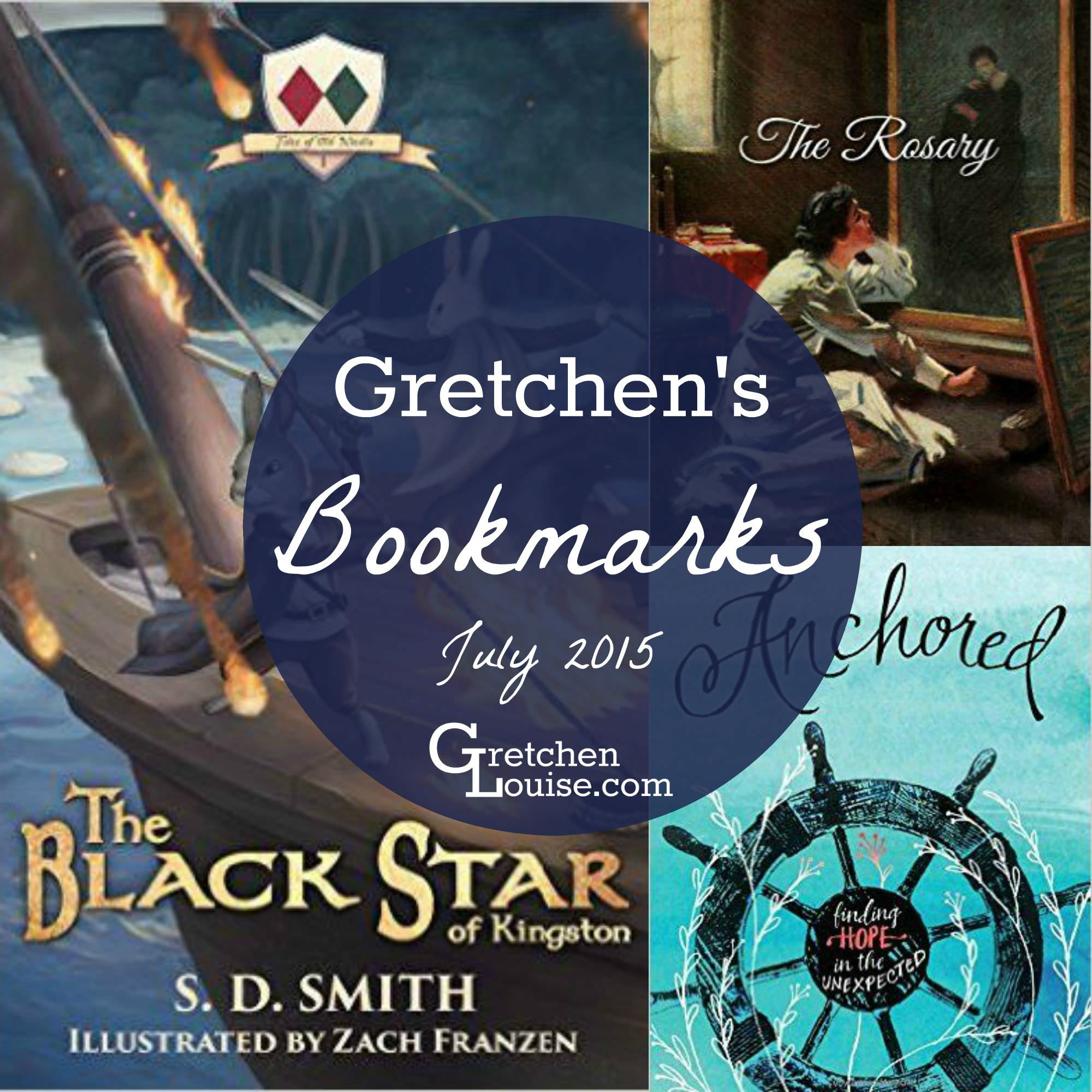 What I'm Reading This Month: July Bookmarks