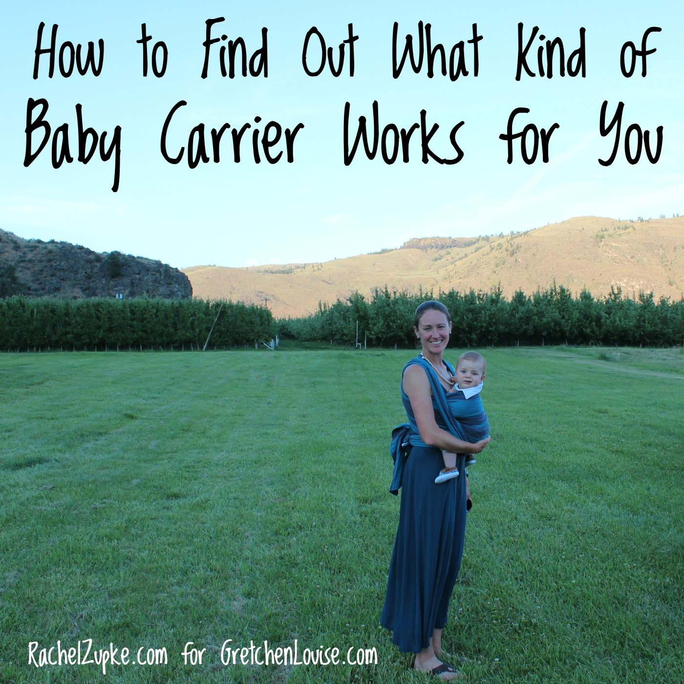 how to find out what kind of baby carrier works for you #babywearing