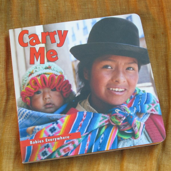 Carry Me (children's books about babywearing)