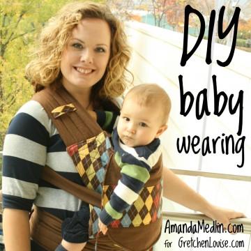 DIY Babywearing with Amanda Medlin