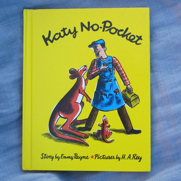 Katy No-Pocket (children's books about babywearing)
