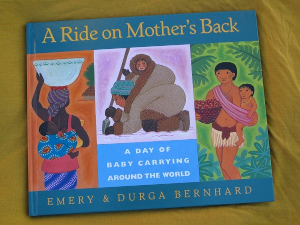 A Ride on Mother's Back (children's books about babywearing)
