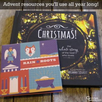 Advent resources you'll use all year long!