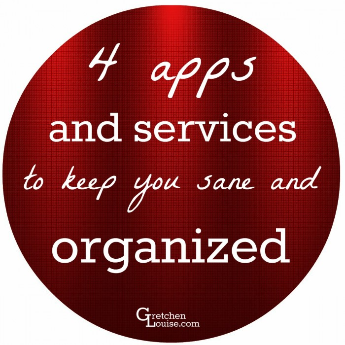 4 apps and services to keep you sane and organized