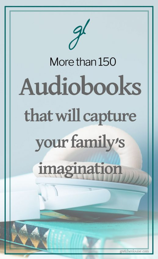 Audiobooks are so much more than just wholesome entertainment. Audiobooks can inspire the imagination, train vocabulary, instill values, teach character traits, and introduce classic literature. Audiobooks give Mom and Dad's voices a break from reading aloud (and literally save the day when everyone has a cold bug and no voice). And audiobooks can be enjoyed together by the whole family whether folding laundry or going on a road trip.