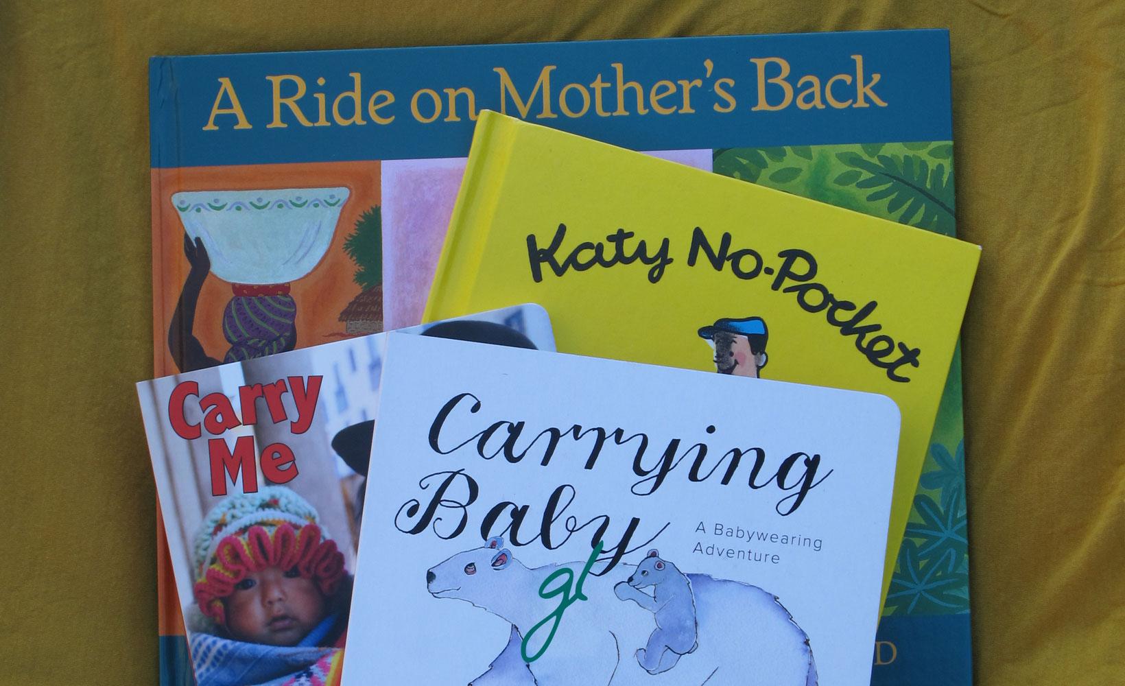 Children's Books About Babywearing