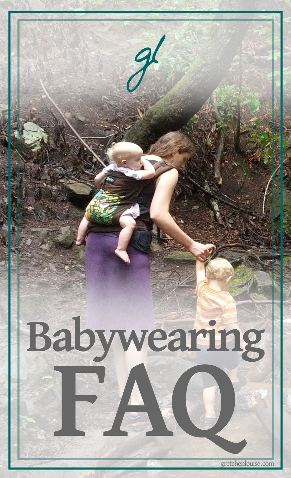 Answers to Frequently Asked Questions About Babywearing via @GretLouise