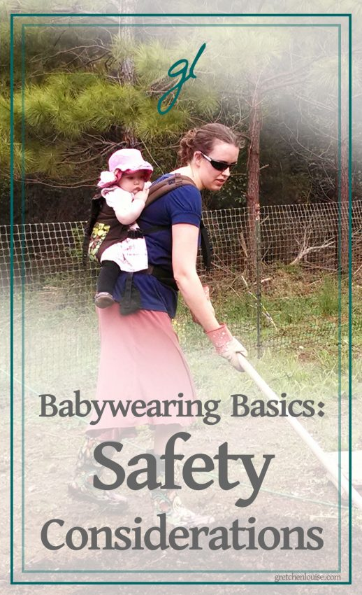 Babywearing has been around for hundreds of years and it usually exists in some form in most cultures. However, just because something has been around for a long time doesn't mean that it has always been done safely.