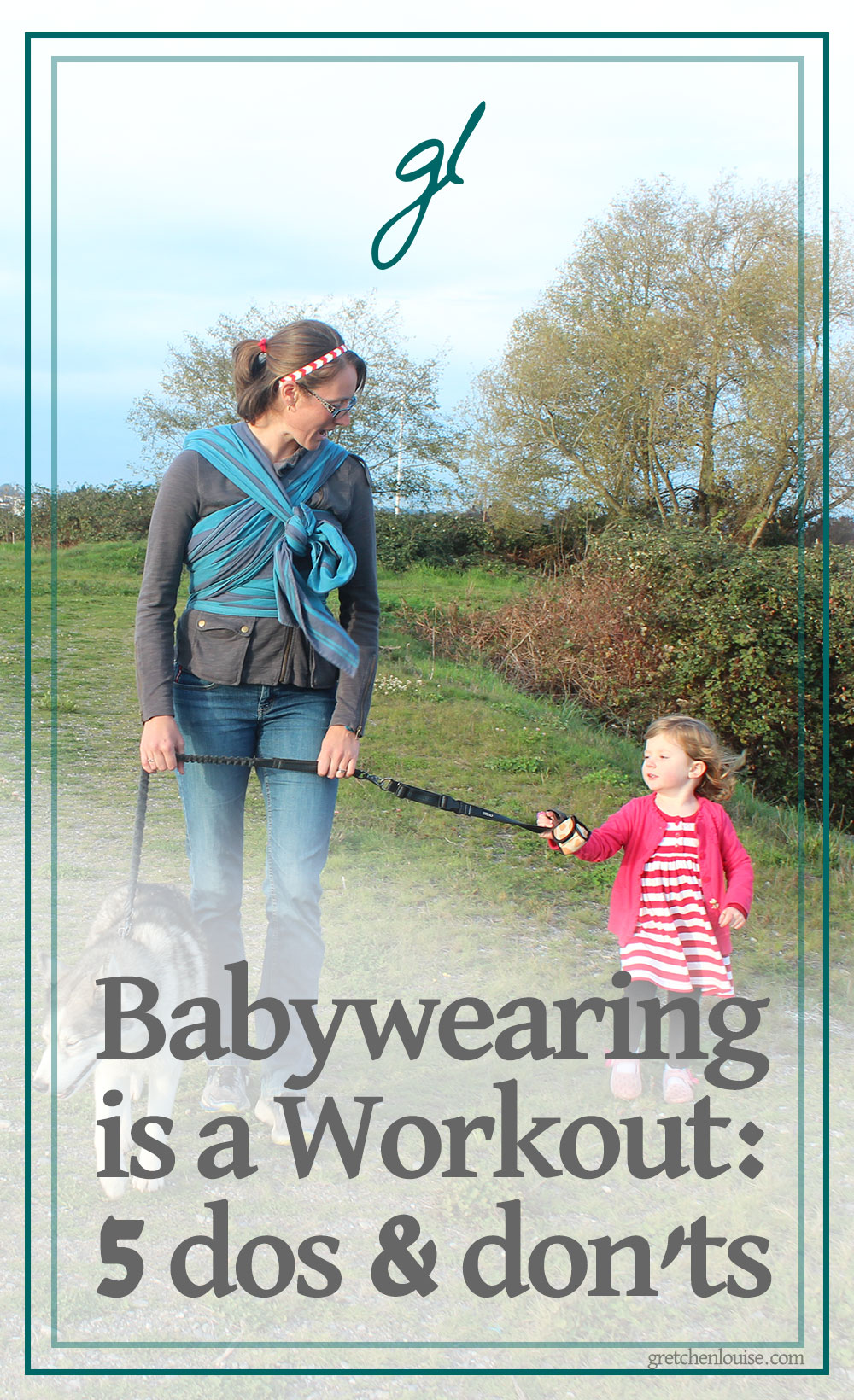 Motherhood is a workout; babywearing takes mommy fitness to a whole new level. Learn how to be proactive and avoid injury so that you can enjoy a long, healthy babywearing experience. via @GretLouise