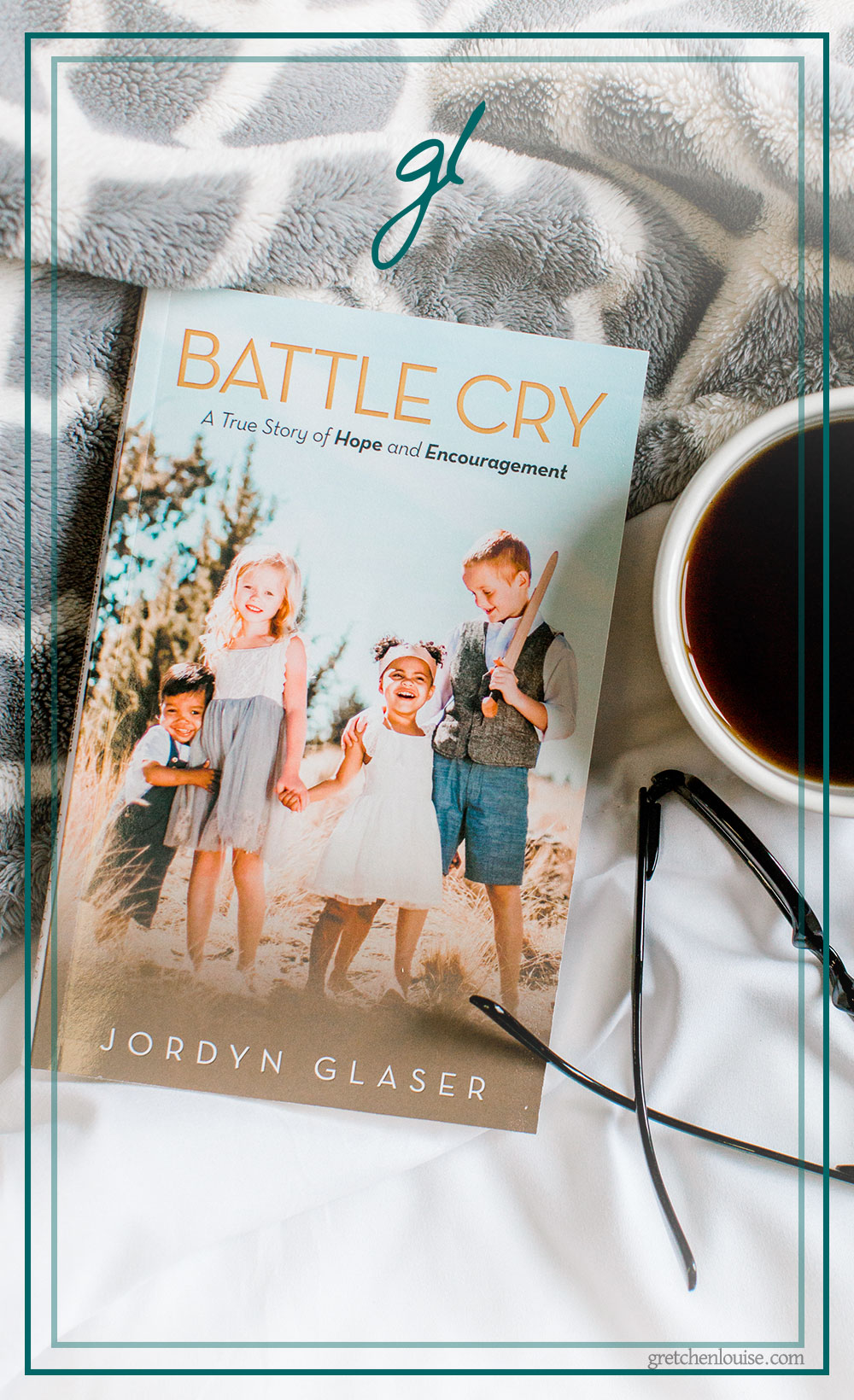 If you've enjoyed the story of Kayla Aimee's micro-preemie in Anchored or the adoption memoirs In a Sun-Scorched Land by Jennifer Ebenhack and Counting Grains of Sand by Natasha Metzler, you'll want to read Jordyn Glaser's Battle Cry.