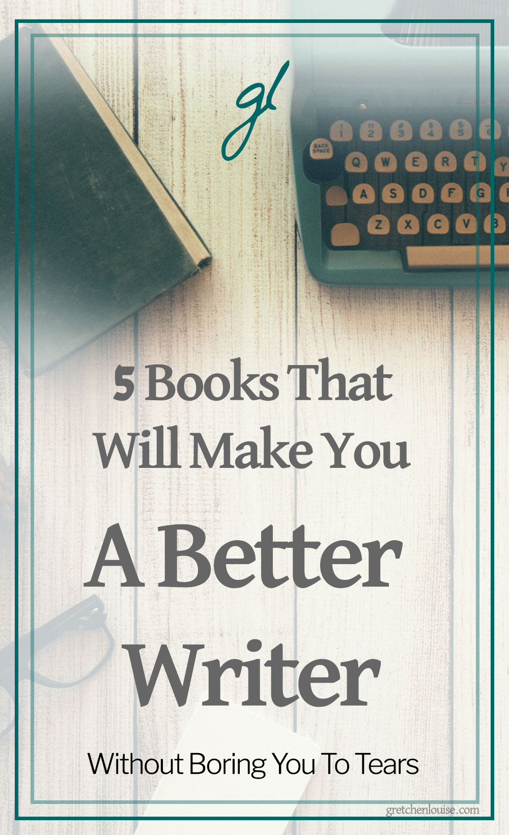 If you're looking for a few books to breathe life into your writing, look no further! These five fun titles I recommend below will fit the bill--without boring you. via @GretLouise