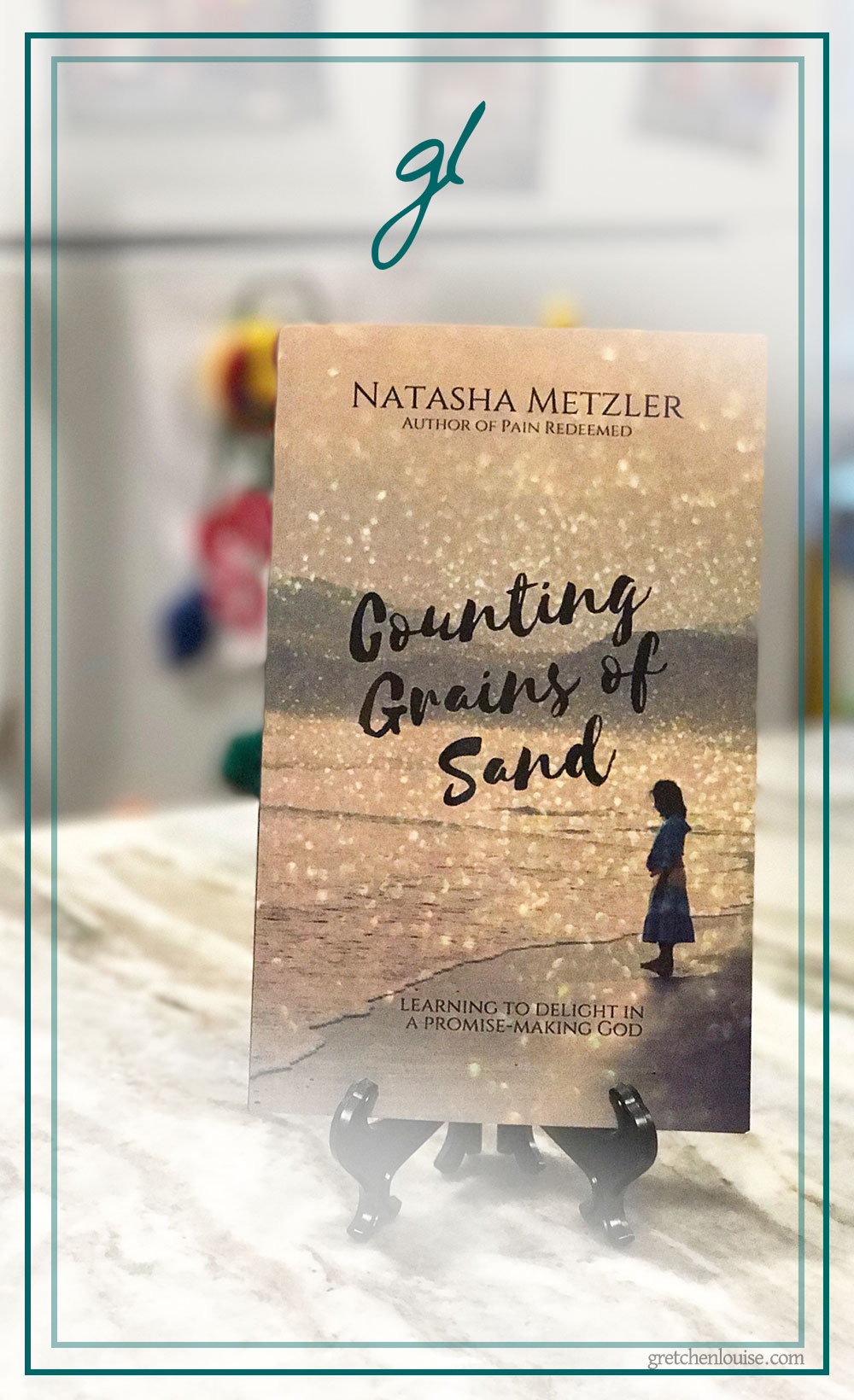 In Counting Grains of Sand, I found not just comfort for the secret aches of my heart, but a challenge to delight in the surrender of my dreams and pursue peace that's not dependent on my circumstances. Natasha's story buoys my faith while I watch Him write my own. via @GretLouise