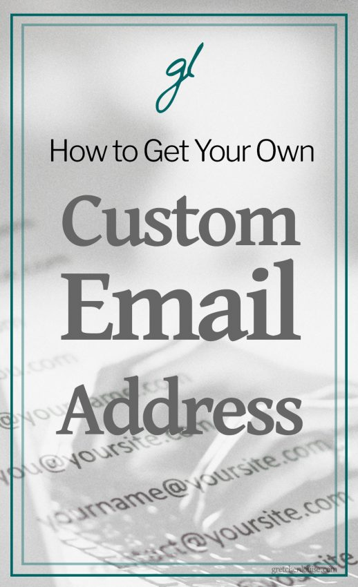 If you need your own professionally branded email address and don't know which way to turn or how much it will cost, read on. I've outlined more than seven options for setting up your own you@yoursite.com email address. Some are free, some are paid; some are less than ideal, some are as easy as using Gmail itself.