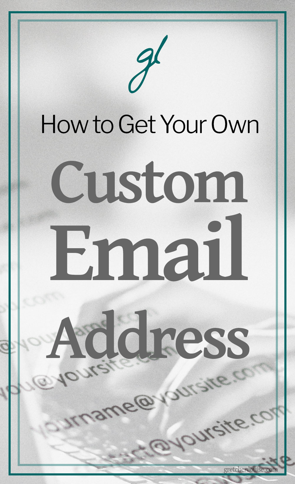 If you need your own professionally branded email address and don't know which way to turn or how much it will cost, read on. I've outlined more than seven options for setting up your own you@yoursite.com email address. Some are free, some are paid; some are less than ideal, some are as easy as using Gmail itself. via @GretLouise