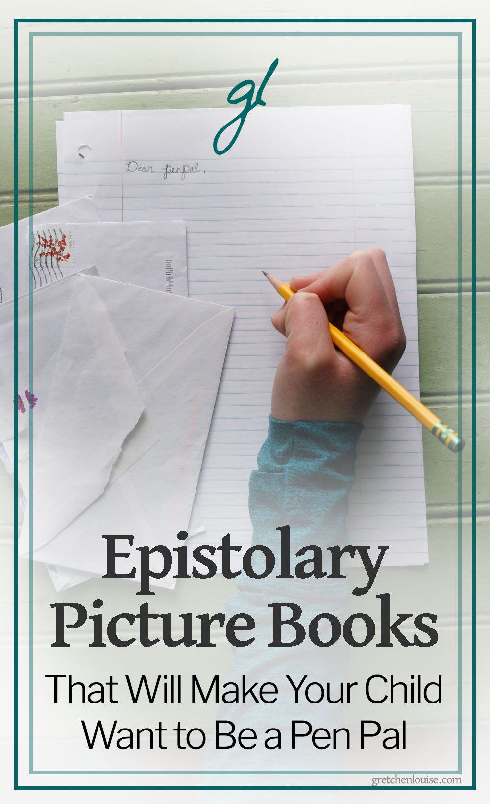 My children think they are indulging their mother's love of all things epistolary when they let me read them picture book after picture book about writing letters. In reality, I'm doing all I can to inspire the lost art of letter writing in the next generation. via @GretLouise