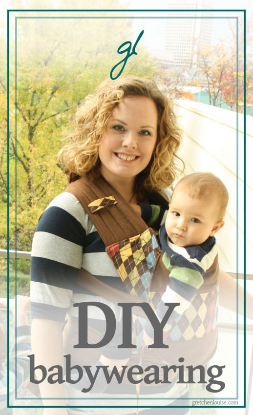 tips for making your own baby carriers