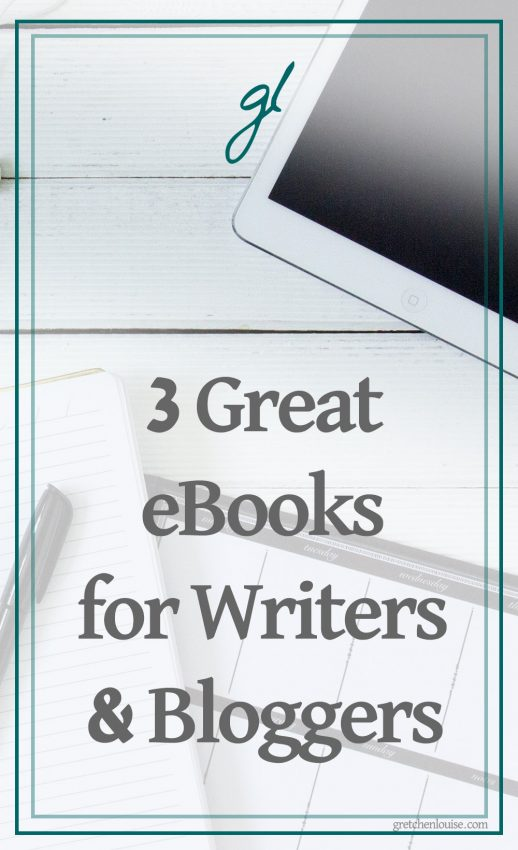 Whether you are a blogger who now calls yourself a writer, or a writer who's taken up blogging, it's important that you continue to hone your craft and tone your purpose. Here are three books that will help you do just that!
