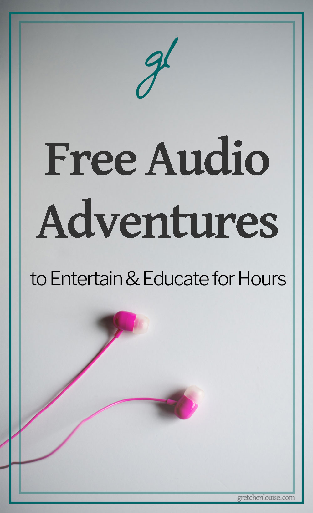 Audio adventures are a budget-friendly, germ-free way to entertain the whole family. Nothing fills the extra hours in our home better than audio adventures! via @GretLouise
