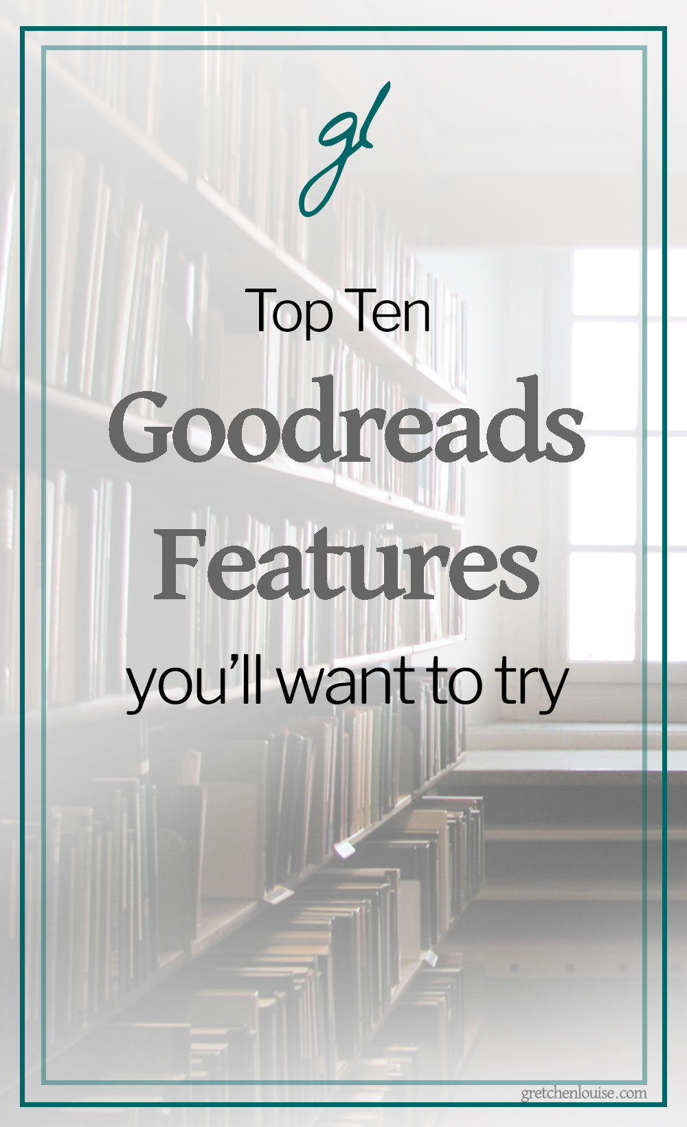 Ask me for my favorite authors and I can name two or three. Ask me for the best book I read last year and I'll probably draw a complete blank. Only to remember them hours later, after our conversation is over.That's why I've started using Goodreads more faithfully. via @GretLouise