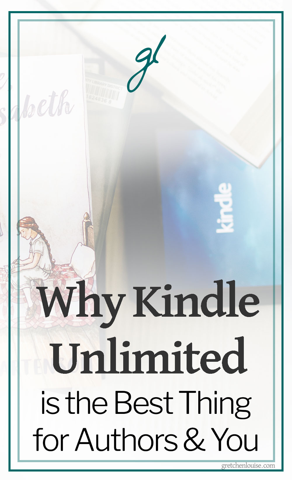 "Did you know that if you subscribe to Kindle Unlimited, the author is paid for every ""page"" you read the first time you read their book? Kindle Unlimited is a win-win for the reader and the author. Here are ten reasons why... via @GretLouise"