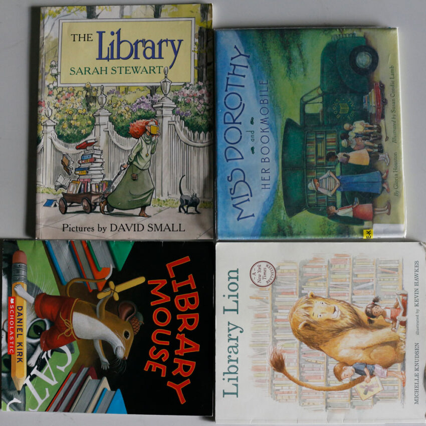 Picture Books Celebrating Books and Libraries