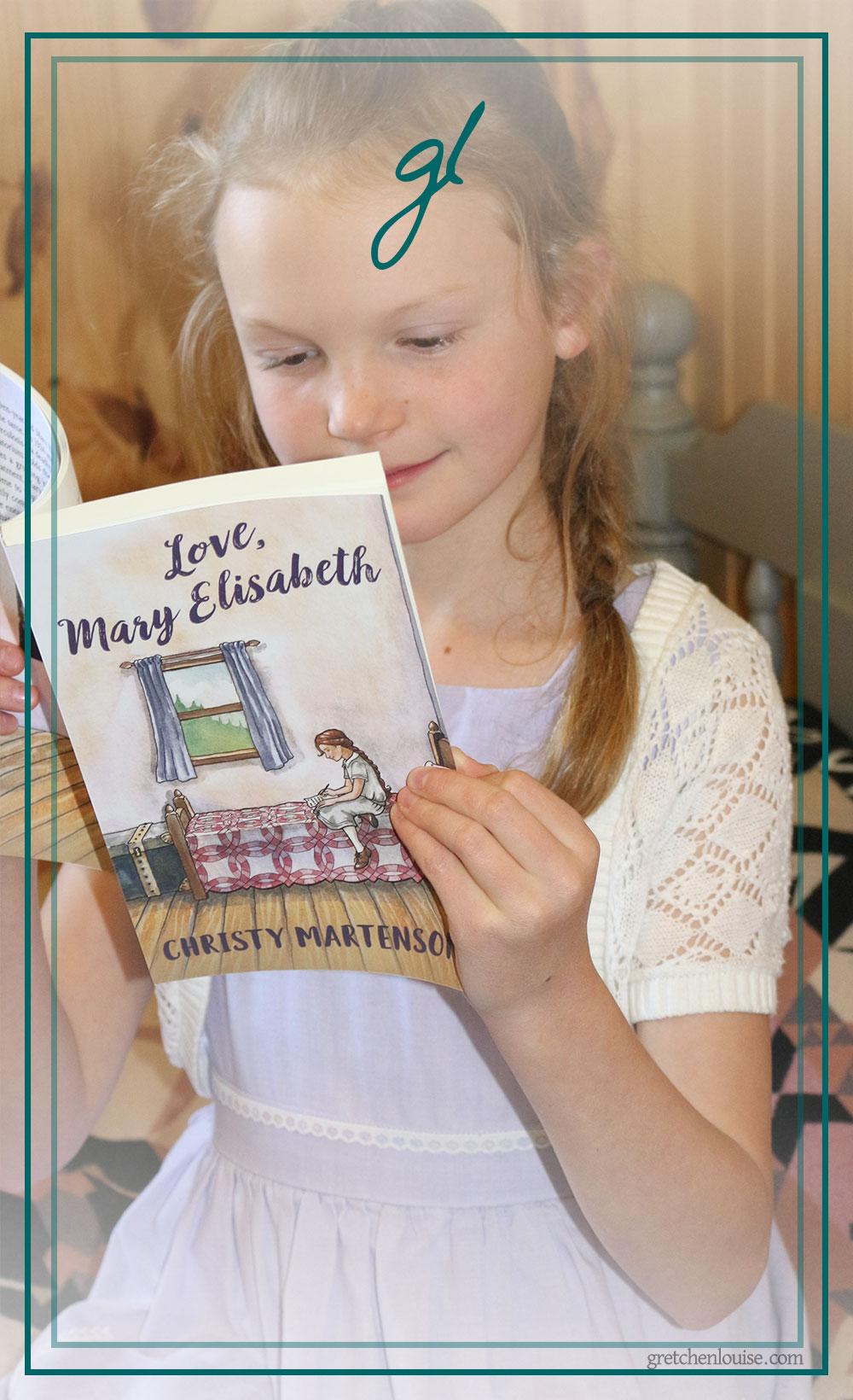 <em>Love, Mary Elisabeth</em>: a delightful read for all ages via @GretLouise