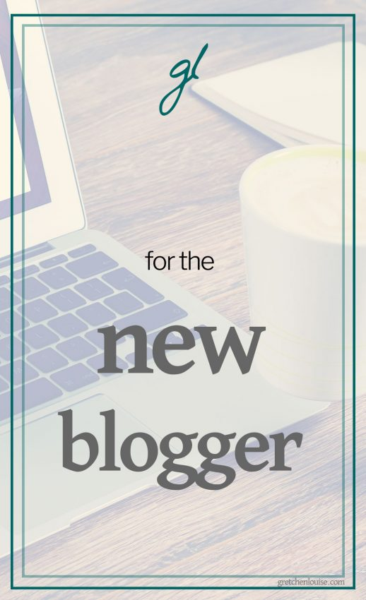for the new blogger