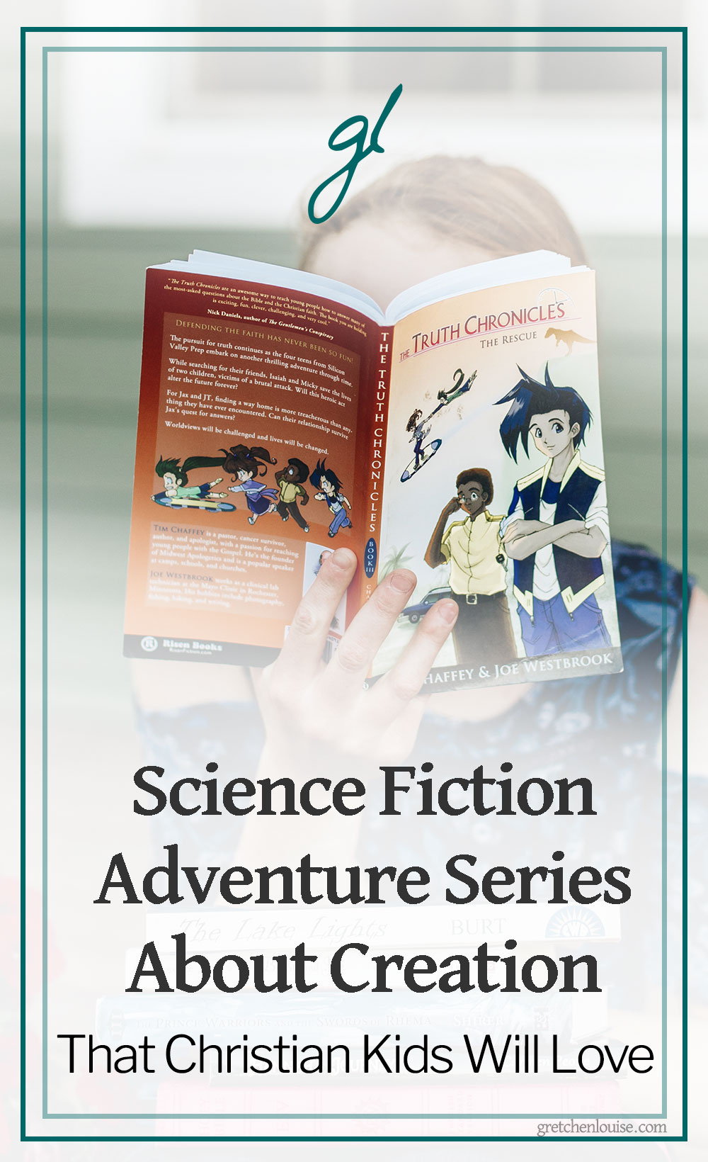 4 Science Fiction Adventure Series About Creation That Christian Kids Will Love via @GretLouise