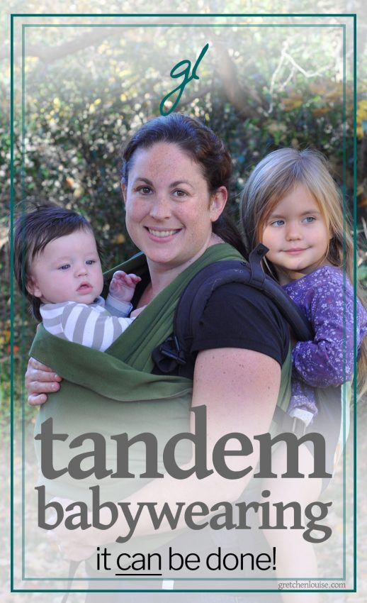 tandem babywearing -- with multiples!