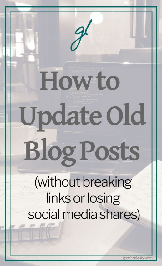Updating or republishing old blog posts doesn't have to be complicated. There are just 3 things you need to know...