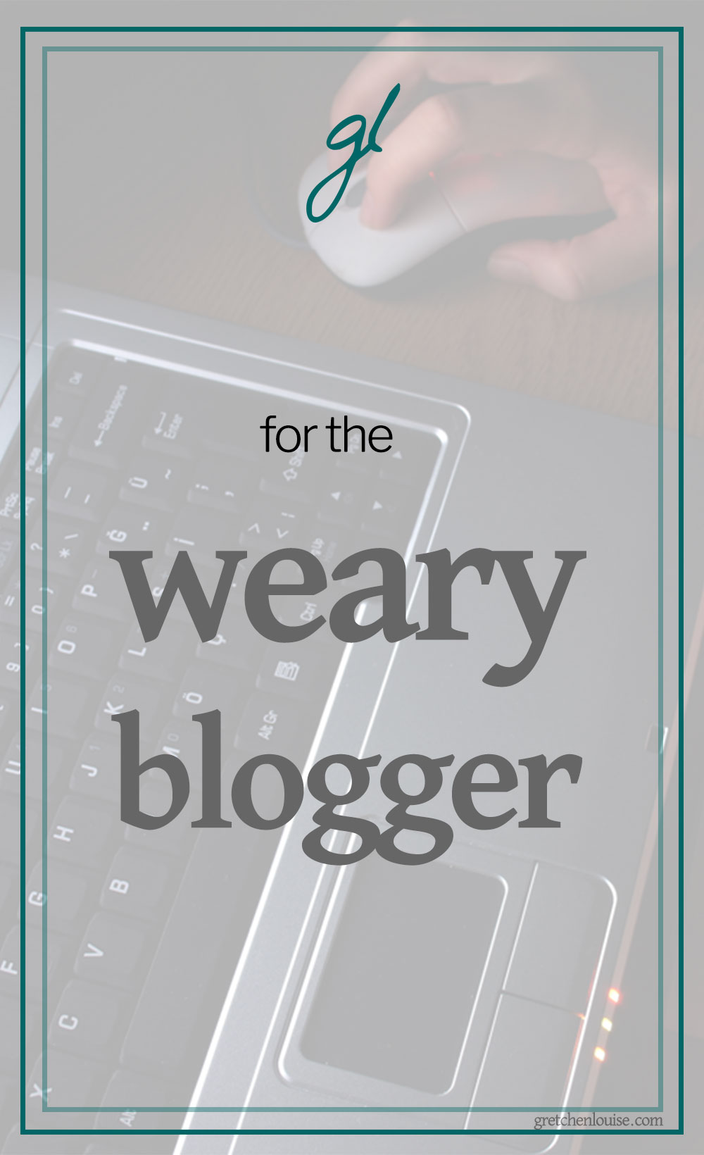 There's no other way to put it: you're tired of blogging, and you don't know what to do about it. via @GretLouise