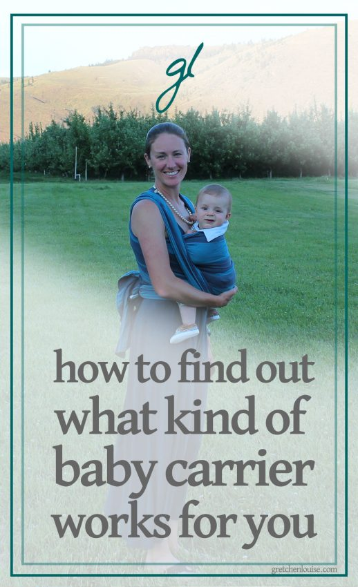 fd1088a4b6a How to Find Out What Kind of Baby Carrier Works for You