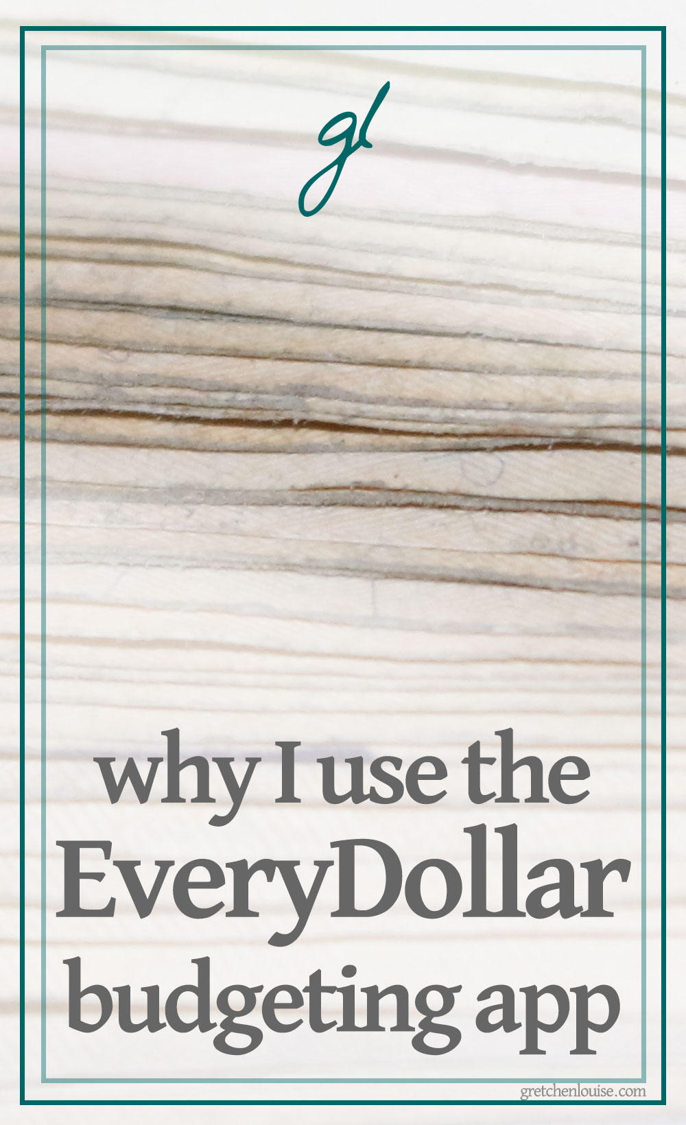 Similar to the envelope system, EveryDollar organizes our money into categories. From young singles just beginning their relationship with money to couples searching for a way to merge their money and set up their future, I recommend EveryDollar to everyone. via @GretLouise