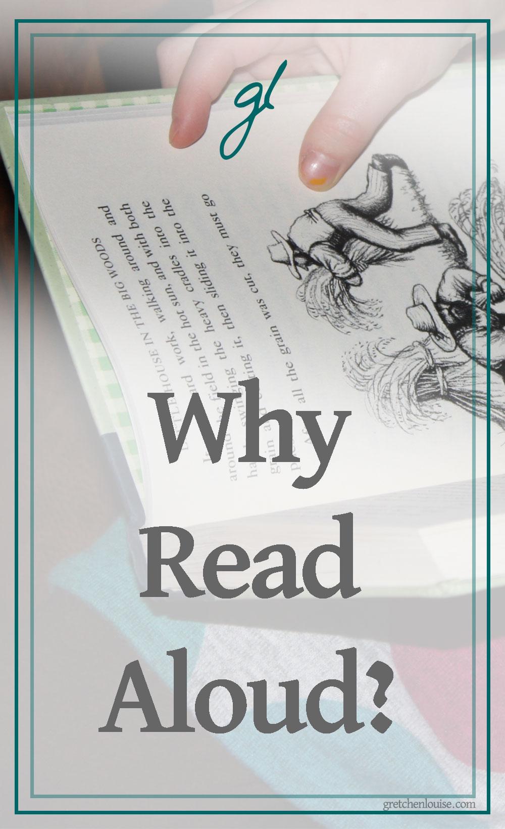 Why read aloud? via @GretLouise
